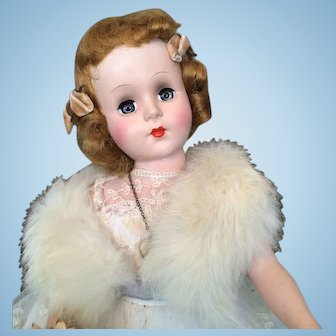 "1950's Nancy Ann Show Doll 17"""