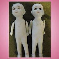2 Rare Futa Mura Japanese Dolls