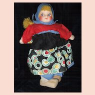 Scandinavian Cloth Mask Face Souvenir Doll