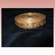 Antique Miniature Sewing Basket