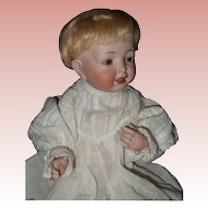 Small Antique All Bisque Kestner Baby Sammie #211