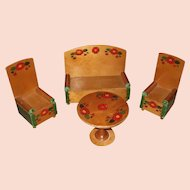 Vintage Wood Doll Furniture