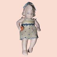Hertwig Sitting Girl Doll