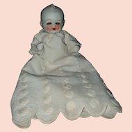 Vintage Large All Bisque Sleep Eye Japanese Baby