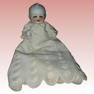Vintage Large All Bisque Sleep Eye Japanese Baby