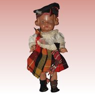 All Original Vintage Scottish Doll