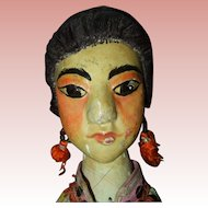19th Century Wood Chinese Hand Puppet