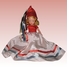 Nancy Ann Storybook #187 A January Merry Maid for the New Year