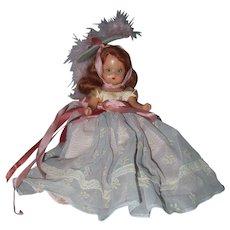 Hard Plastic Nancy Ann Storybook Doll Hit Parade Series - Red Tag Sale Item