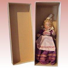 French Composition Souvenir Doll