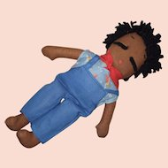 George Borgfeldt, Sleepy Sambo, Cloth Doll