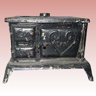 Antique, Cast Iron, Pearl, Stove