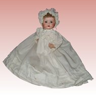 Cabinet Size, German, Bisque , Carl Bergmann, Character Baby