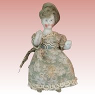 Dollhouse, Stone Bisque, lady