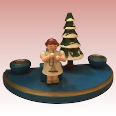 German Putz Christmas Candle