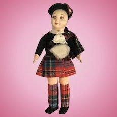 Norah Wellings Scottish Doll