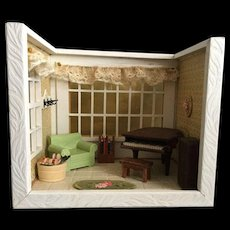 Shadow Box of Sitting Room - Red Tag Sale Item