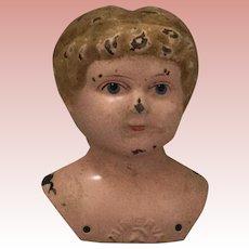 German, Minerva Tin Head