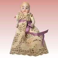 German, Hertwig Dollhouse Baby