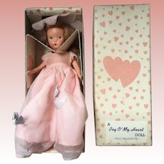 Painted Bisque, Kerr Heinz Girl Doll