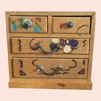 Small, Japanese Chest of Drawers