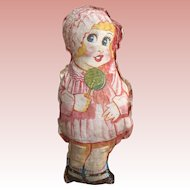 Printed Cloth Girl Doll