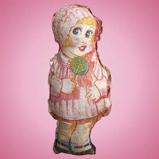 Printed Cloth Girl Doll