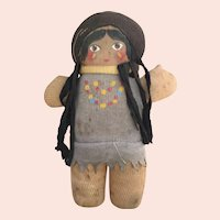 Cloth, Stocking, Indian Doll