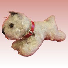 Small Steiff Terrier Dog