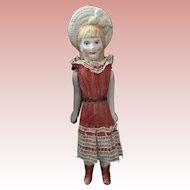 Miniature, Bonnet Head Doll