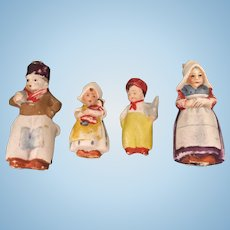 Hertwig, Miniature, All Bisque Family