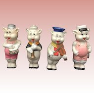 Walt Disney, Bisque, Three Little Pigs
