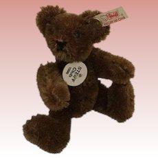 Steiff Club Teddy Bear Dark Brown