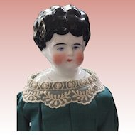 Pet Name, Edith China Head Doll