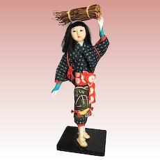 Japanese Peasants Girl