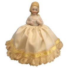 German, Half Doll, Pin Cushion - Red Tag Sale Item