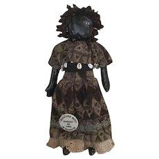 Black, Cloth Emancipation Walk Doll