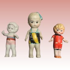 Three, Japanese Bathing Dolls
