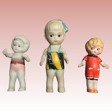 Three, Japanese Bathing Dolls