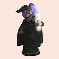 Soft Sculptured Witch by E. Thackuk