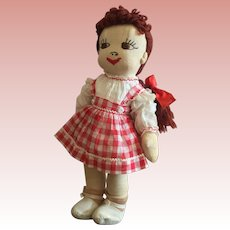 Home Made Child Doll