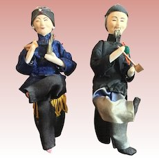Pair of Oriential Smokers