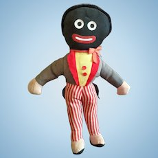English Black, Cloth Golliwog