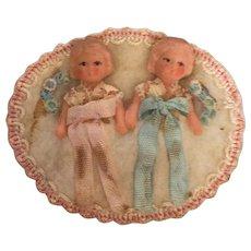 German  Twin Babies - Red Tag Sale Item