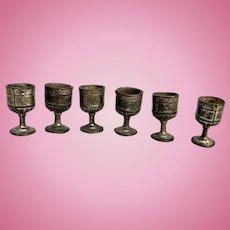 German Wine Goblets