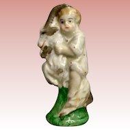 Miniature Staffordshire Figurine