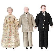 Artist Bisque, Dollhouse Dolls