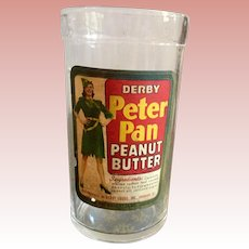 Peter Pan Peanut Butter Jar