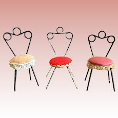 Miniature, 1950's Chairs