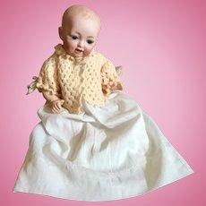 Hertel Schwab, #151, Solid Dome, Bisque Head, Baby